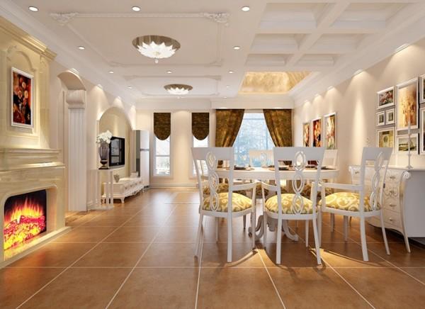 现代欧式的居室有的不只是豪华大气,更多的是惬意和浪漫