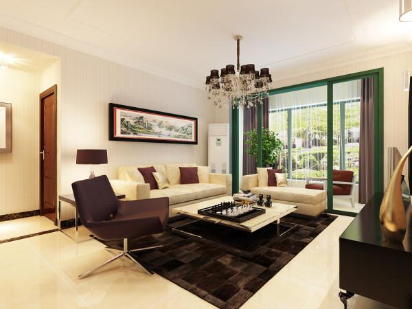 石家庄业之峰装饰-恒大名都136平米三居室现代简约风格装修效果图