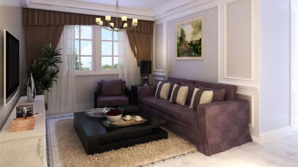 家具运用了意大利小牛皮的现代简约式家具,以灰 咖色为主色调,强调设计中的稳重。