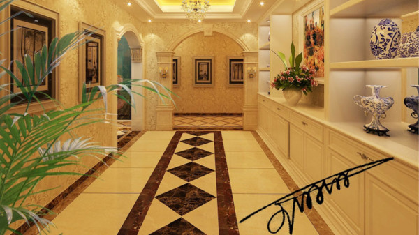同时,欧式装饰风格最适用于大面积房子,若 空间太小,不但无法展现其风格气势,反而对生活在其间的人造成一种 压迫感。
