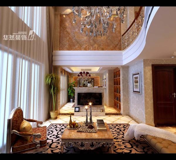 天下锦城复式楼欧式客厅欣赏