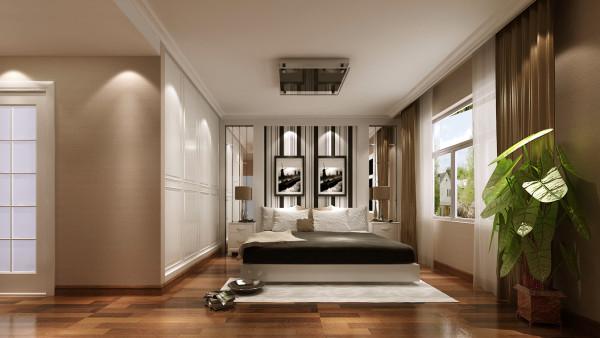 明亮的色调始终贯穿整体,直线造型吊顶不仅起到了隐蔽空调设备的作用