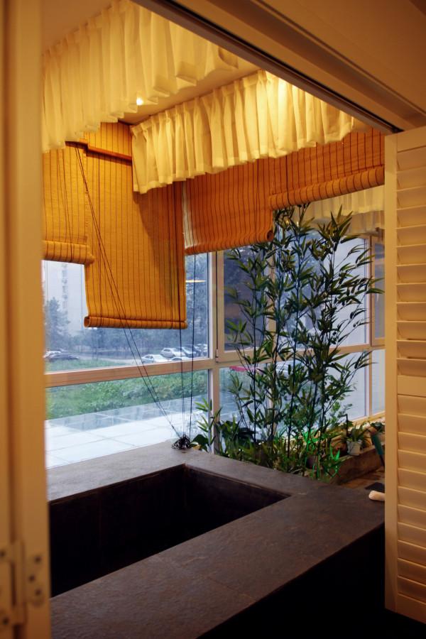 业风格水泥地面复古红砖家居设计设计工作室蝶影设计个性设计阳台高清图片