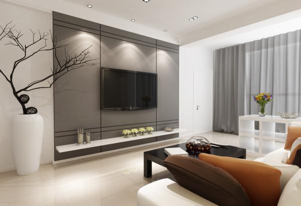 石家庄业之峰装饰-阿尔卡迪亚88平米现代简约风格装修效果图