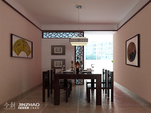 餐厅:敞亮的餐厅,简约的设计使得餐厅有种庄重的色彩。