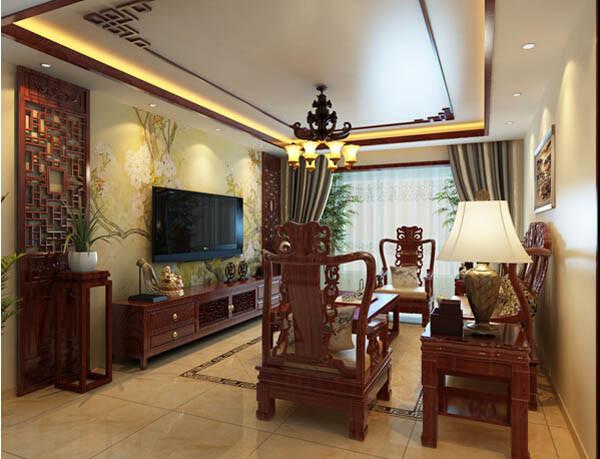 客厅与餐厅的完美过渡从视觉上实现了区域的划分,同时与地面砖颜色相呼应,可谓是低调的华丽。