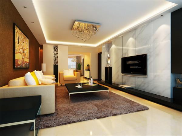 简约风格是时尚创造的最惊艳的设计语言,设计师以简约笔触演绎现代住宅的气派与和谐,为偌大的空间带来家的感觉,令人开怀。