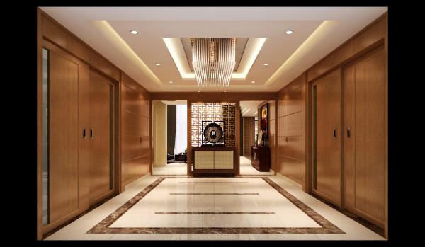 亮点:镂空隔断的婉约美感加之对称造型设计,开阔的空间,静谧的氛围,就是回家的感觉。