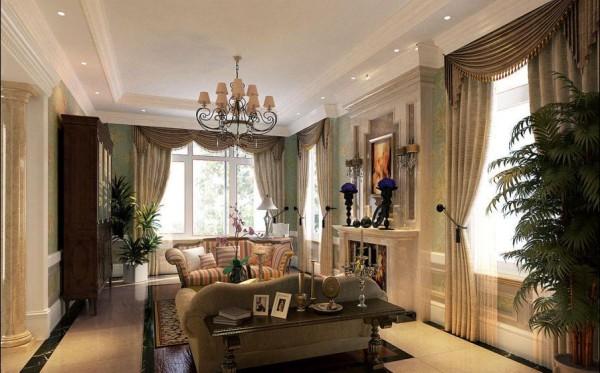 会客厅的功能与中式会客厅功能性不甚相同,一般情况只用来接待普通访客,因而会客厅面积不大,布置简洁大方。当然,鲜花和绿植是不可或缺的点缀元素。