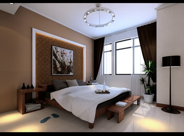 主卧在原始的结构上做成了一个舒适的套房,独立卫生间和更衣间让主人享受到家居一站式体验。次卧小孩房有独立的书桌和足够的储物空间。