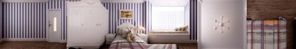 南城都汇138平米欧式风格儿童房装修设计