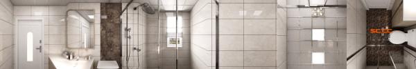 南城都汇138平米欧式风格卫生间装修设计