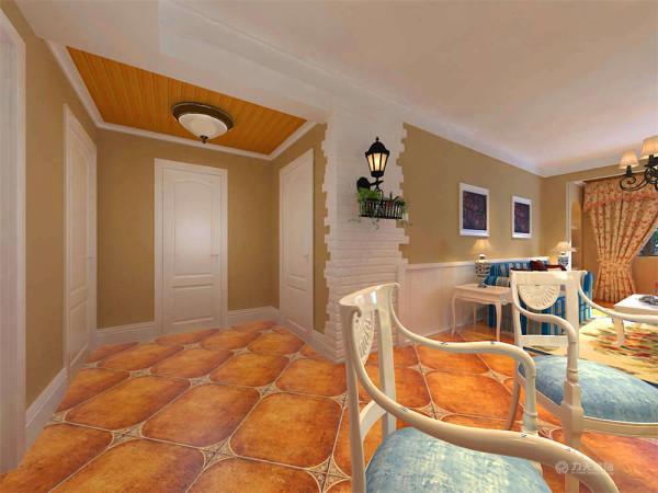 将纯朴元素应用到家居设计中,给人自然浪漫的感觉。在造型上,广泛运用拱门与半拱门,给人延伸般的透视感。