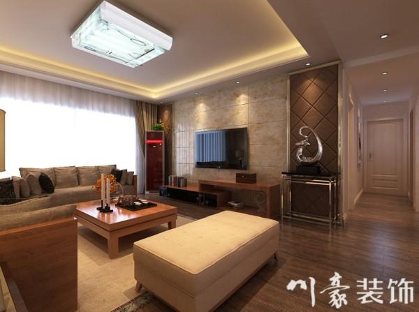 客厅现代效果图