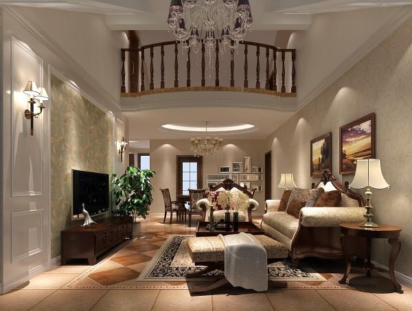 挑高的顶面处理是设计师的点睛之处,也是考验设计师对空间把握以及室内墙地顶的能否协调的地方。