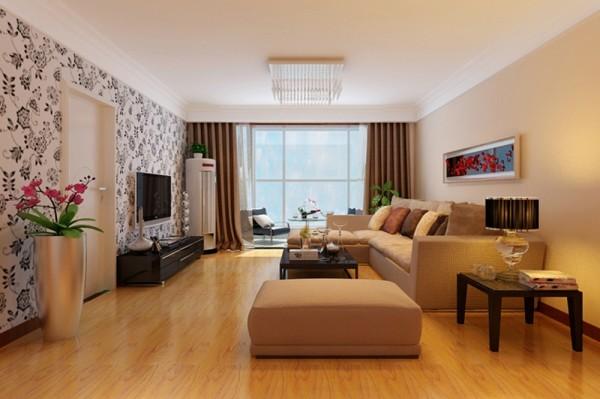 石家庄业之峰装饰-万达小区130平米三居室现代简约风格装修效果图