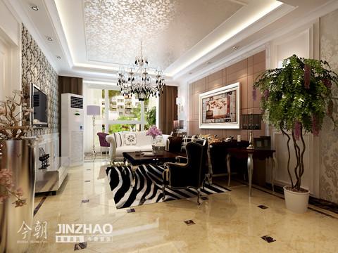 客厅:时尚靓丽的客厅设计,通过在选色的搭配上显得,靓丽而时尚。