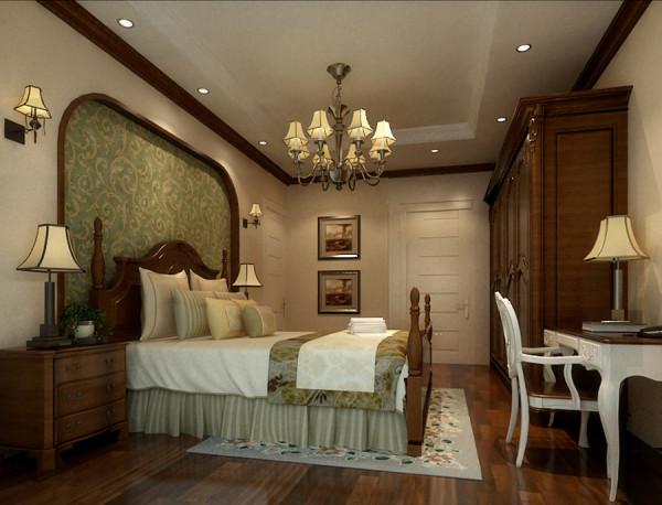 卧室是人们休息和睡眠的自由生活空间。在卧室的设计上,设计师要追求的是功能与形式的完美统一、优雅独特、简洁明快的设计风格。