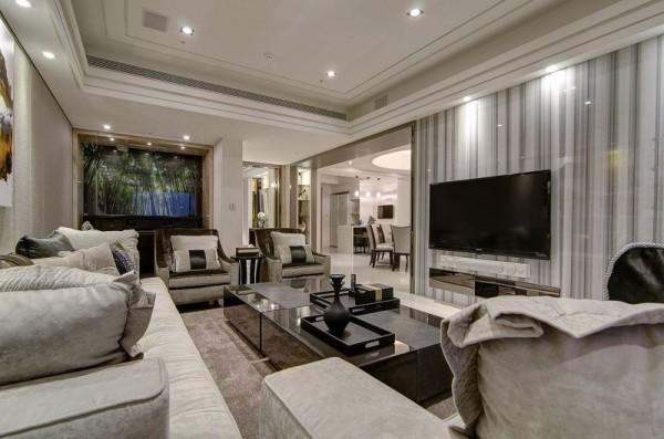 新古典混搭、时尚风、创造未来之光-思念果岭公寓实景案例赏析
