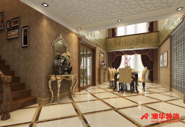 大华南湖公园世家   餐厅效果图