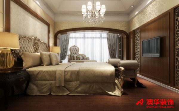 大华南湖公园世家   卧室效果图