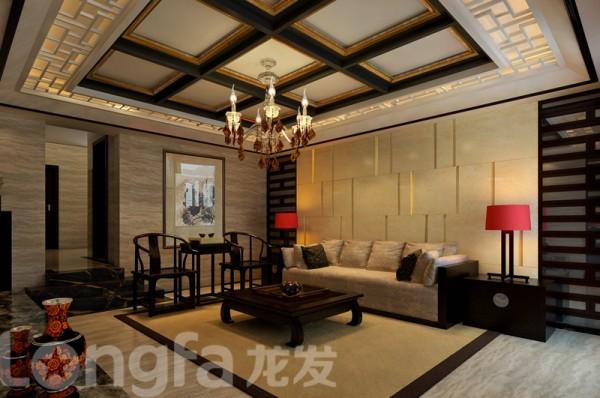 客厅沙发背景墙展示