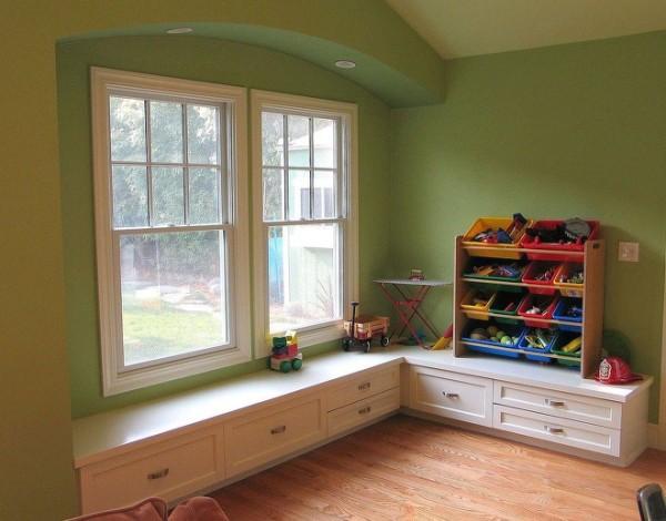 如果觉得房子储物空间不够,就这样设计您的飘窗吧!