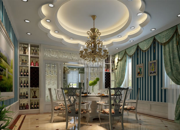 简约欧式风格的餐厅