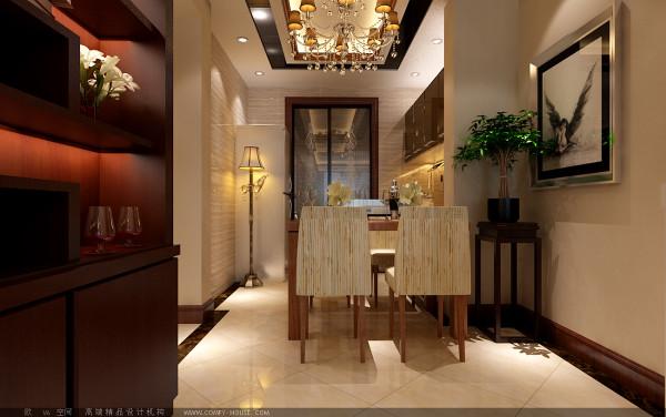 【成都实创装饰】100平米 三居 现代简约风格 装修参考—整体家装—餐厅装修效果图