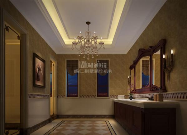 卫生间采用米色为主色调,地面采用防滑处理,干净卫生。