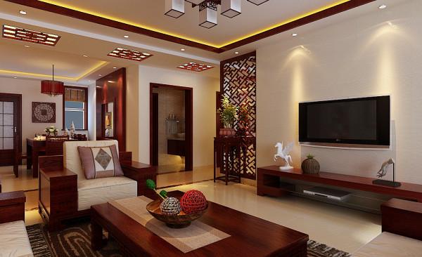 客厅装修,新中式风格4个灵魂标志