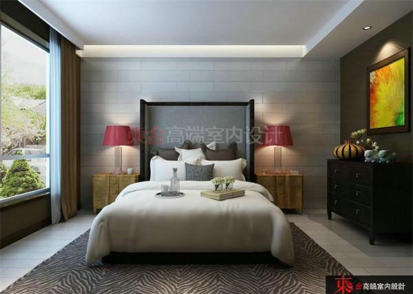 小资 别墅装修 样板间设计 东合设计 卧室图片来自东合设计在英伦湾