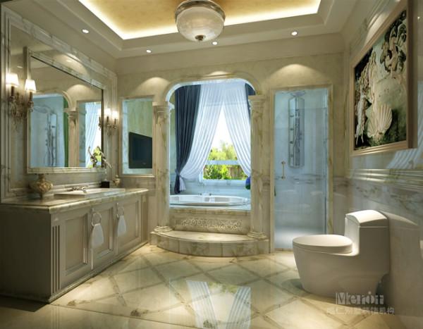 进入这个卫浴空间,心情一下就平静了下来,每个设计点都给人纯净而优雅地感觉,如梦境一般。如果没有这些卫浴空间特有的家具元素,可能会让人误认为进入了女孩的闺房。