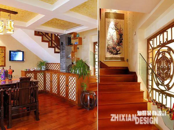餐厅落户于靠近楼梯的位置,依据地势而设的餐边柜,很好的解决了空间的犄角感,同时行之有效的增加了储物功能。透过边角的设计,小编的观感是,设计无处不在,微观细节的设计同样精彩