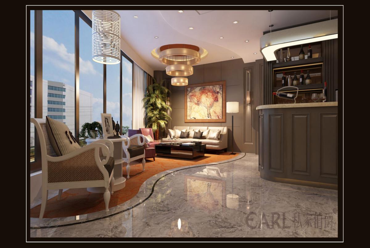 其这种办公家具即简单、又大方使用;在本设计中高层管理领导者采用了稳重,厚重,灰色办公家具,墙与面,顶棚的设计形成统一整体,简洁大方,能很好的提高工作效率,黑、棕色用于老板椅和会客室桌椅。