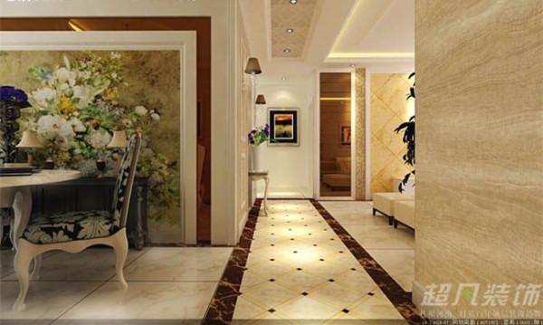 客厅过道增加房子的面积 让整体看起来整体活泼不单调