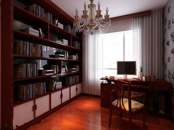 浓重的中式文化气息 书房图片