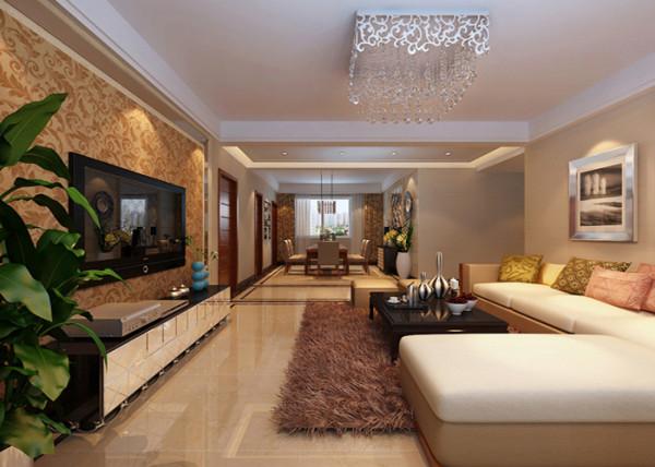 客厅简约风格装修效果图