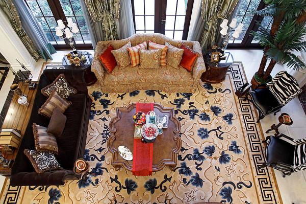 欧式 别墅 客厅图片来自苹果装饰公司在碧桂园欧式装修风格续的分享