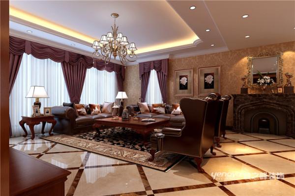 餐厅整体色调为暖色调,彰显业主稳重大气的风格,欧式风格充满浪漫的底蕴,通过完美的典线,精益求精的细节处理,带给家人不尽的舒服触感,实际上和谐是欧式风格的最高境界。