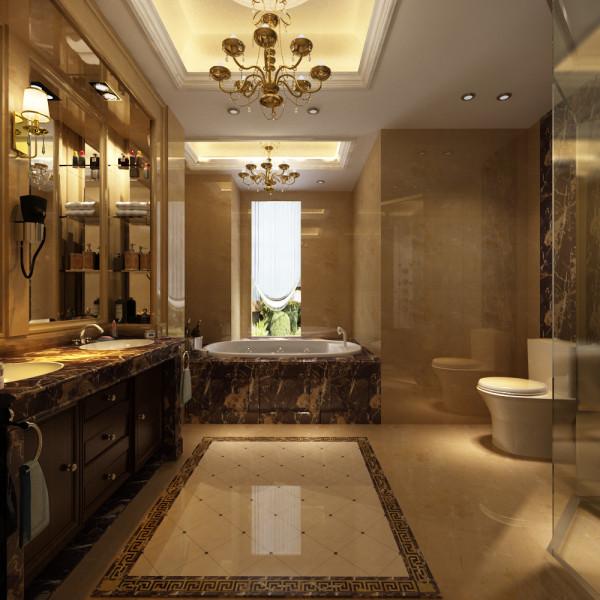 别墅 欧式 卫生间图片来自石俊全在欧式风格装修--追求的惬意和浪漫的