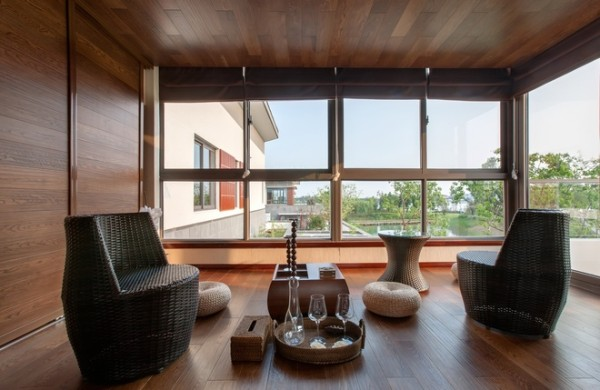 东南亚设计以不矫揉造作的材料营造出豪华感,使人感到既创新独特又似曾相识的生活居所。