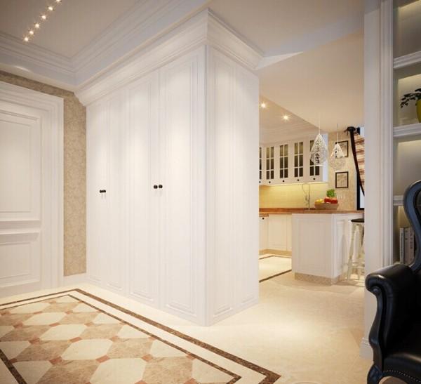皮质与软包在欧式风格家居设计中是必不可少的元素,在整个空间中彰显着华贵与高雅