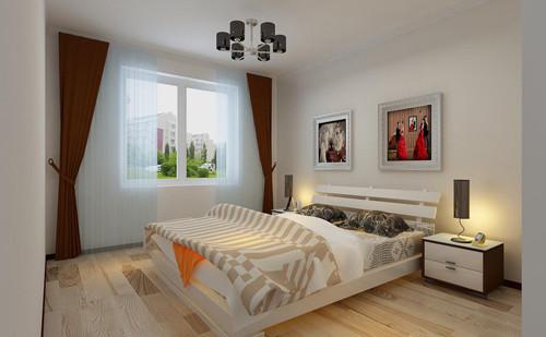 卧室是放松和休息的场所,所以设计要注重温馨舒适,设计师在卧室的设计上,以简洁、舒适、温馨、和谐为原则。