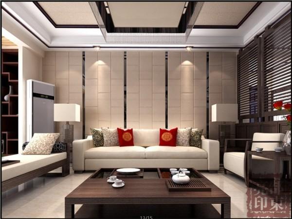 沙发背景墙用的是简单的条形走的造型,给您一种比较简单却比较大气的感觉。