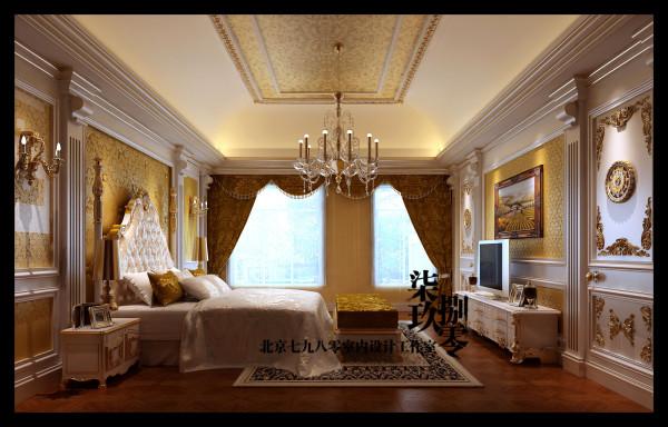 七九八零设计工作室,别墅设计,法式风格,会所设计