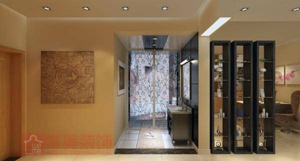 大自然取材的几幅照片墙图画,营造出温馨自然的气息。