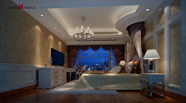 名雕丹迪别墅设计—美式风格卧室