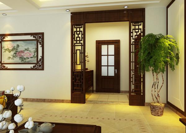 石家庄业之峰装饰-天山水榭花都141平米新中式风格装修效果图图片