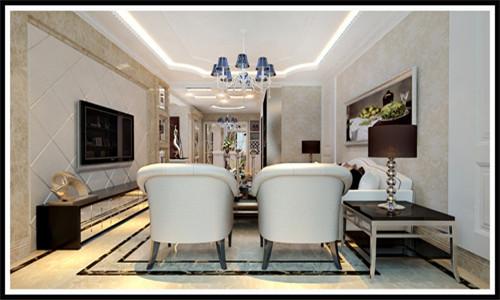 高雅大气的欧式客厅